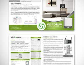 #2 for Design of a 8 Page Product Brochure af writi09