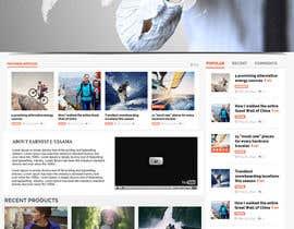 Nro 12 kilpailuun Design a Website Mockup for Earnest J. Ujaama käyttäjältä webgraphics007