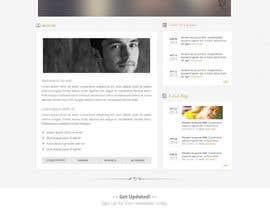 Nro 10 kilpailuun Design a Website Mockup for Earnest J. Ujaama käyttäjältä Pavithranmm
