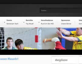 #3 for Logo integration into existing html template for a local sports club (handball) by Vmuscurel