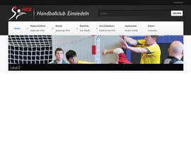 #7 dla Logo integration into existing html template for a local sports club (handball) przez foxxed