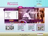 Graphic Design Inscrição do Concurso Nº16 para Website Design for Dating website homepage