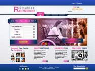 Graphic Design Inscrição do Concurso Nº32 para Website Design for Dating website homepage
