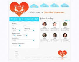 #14 para Website Design for Dating website homepage por puya4puya