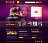 Graphic Design Inscrição do Concurso Nº22 para Website Design for Dating website homepage