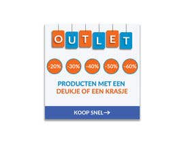 #122 for outlet banner by SEFAT10