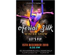 "nº 35 pour Create a poster for event ""Aerial Silk Show"" par ajmal32150"
