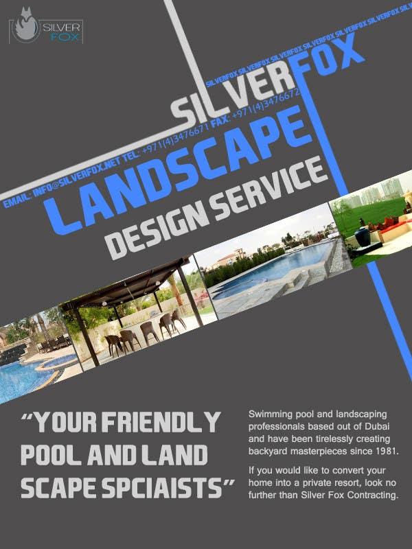Konkurrenceindlæg #15 for Advertisement Design for Landscaping Service