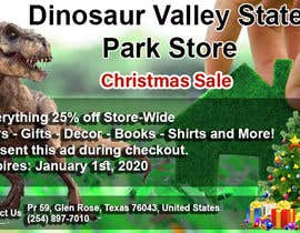 #13 cho Ad for Christmas Sale - Dinosaur Store bởi Memosword