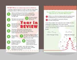 #10 для Edit and re-design professional christmas letter от Sophialee4