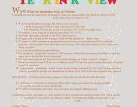 #60 cho Edit and re-design professional christmas letter bởi Khalidgd