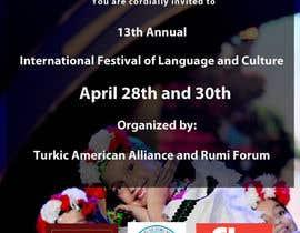 #5 untuk Design a Flyer for International Festival of Language and Culture oleh designsvilla