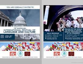 #21 untuk Design a Flyer for International Festival of Language and Culture oleh skanone