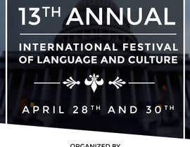 #7 untuk Design a Flyer for International Festival of Language and Culture oleh adityadhawan226