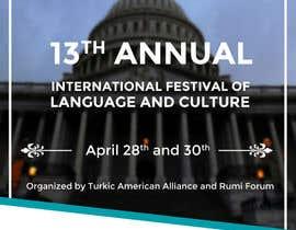 #8 untuk Design a Flyer for International Festival of Language and Culture oleh adityadhawan226