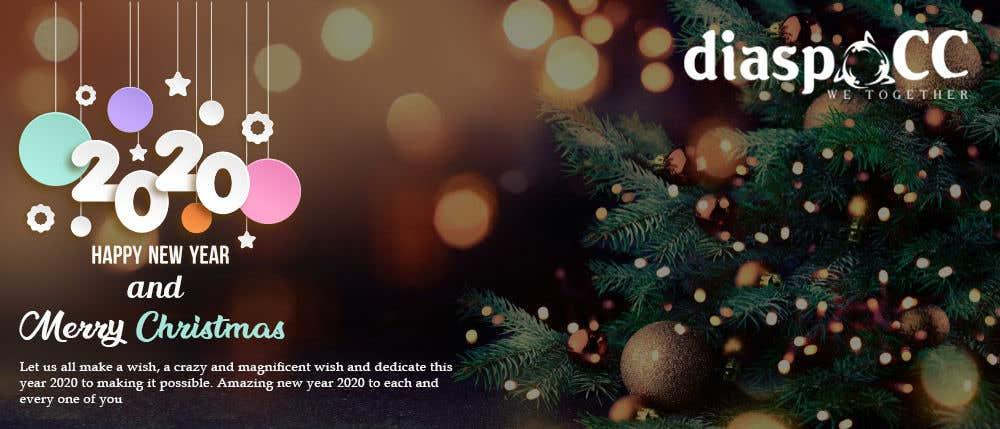 Конкурсная заявка №29 для Merry Christmas & Happy New Year 2020