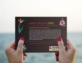 #54 för Redesigning Holiday Postcard av MDALAMIN2919