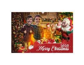 #12 para create a funny Christmas card 2019 por mehdycr