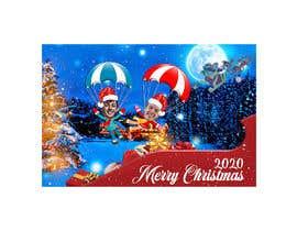#39 para create a funny Christmas card 2019 por mehdycr
