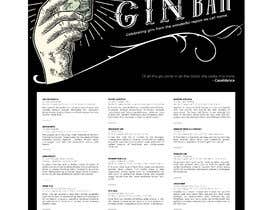 #24 for GIN BAR POSTER by eling88