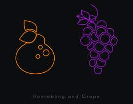 #22 for draw Hanrabong and Grape in vector illutration af jarvisdesigning