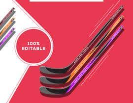 #6 pentru Erstelle ein Eishockey bezogenes Design ohne Vektoren einer Plattform de către mamunahmed9614