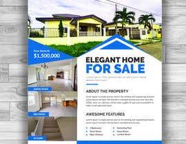 #10 for Real Estate For Sale Flyer af arifdesigner14