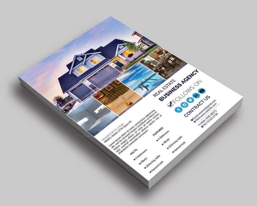 Konkurrenceindlæg #21 for Real Estate For Sale Flyer