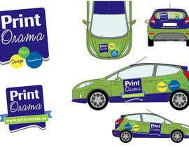 #105 para Graphic Design for Vehicle wrap and Logo por satgraphic