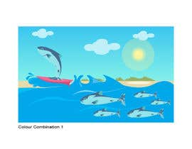 #31 para Cartoon for Salmon Swimming Upstream por YogNel