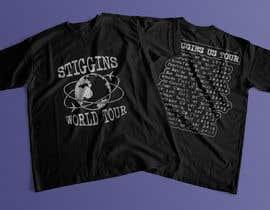 #24 untuk Stiggins World Tour tee Shirt design oleh mdyounus19
