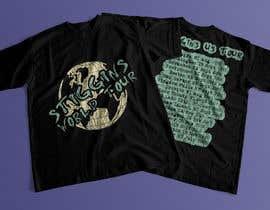 #49 untuk Stiggins World Tour tee Shirt design oleh mdyounus19