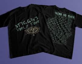 #50 untuk Stiggins World Tour tee Shirt design oleh mdyounus19