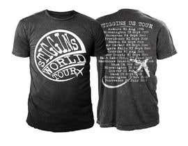 #37 untuk Stiggins World Tour tee Shirt design oleh sajeebhasan166