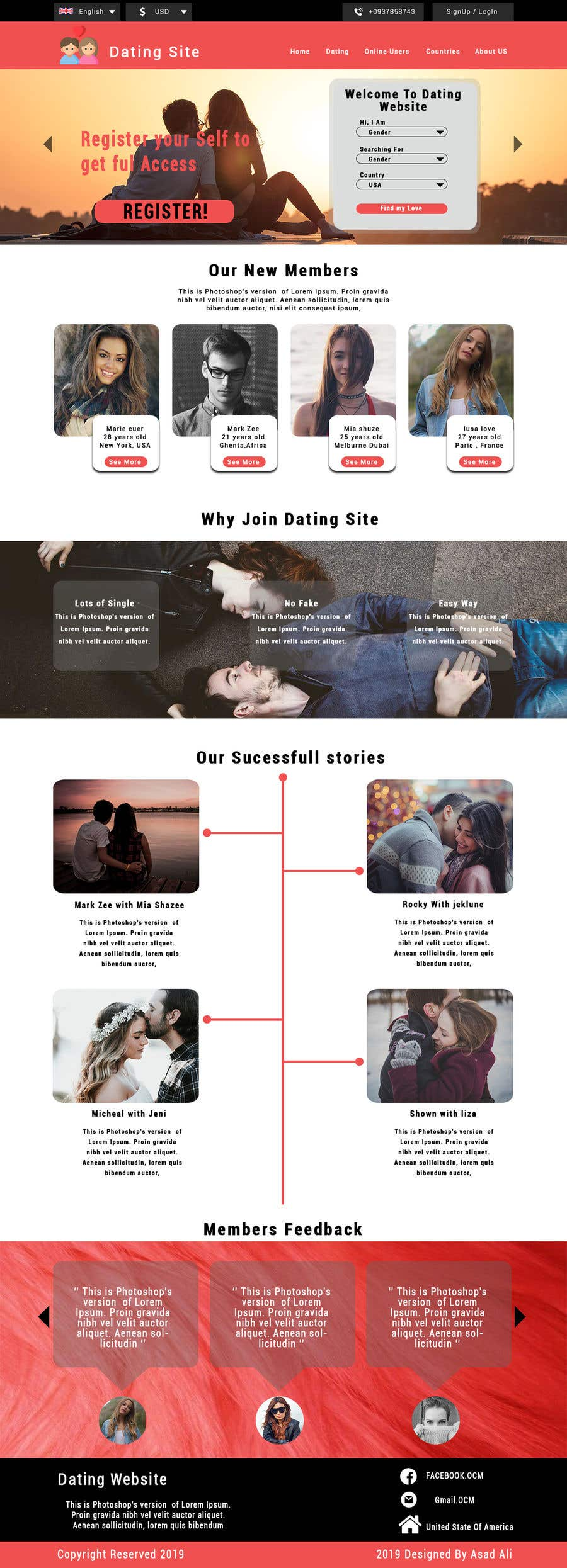 Contest Entry #                                        9                                      for                                         Dating Website/App Creatives