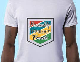 "#21 untuk ""Personality Typology Freaks"" T-shirt designs, mainly typography oleh snowdropj12"