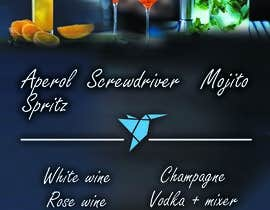 #10 для Build me an attractive stand out Cocktail Menu featuring 3 Cocktails and other drinks as well от ecemozkurt