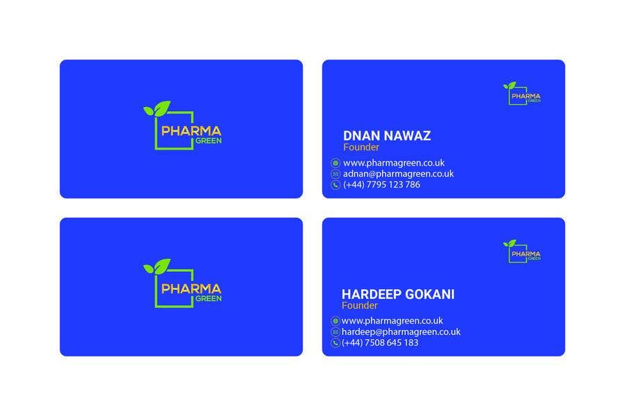 Penyertaan Peraduan #148 untuk Business Card Design 2