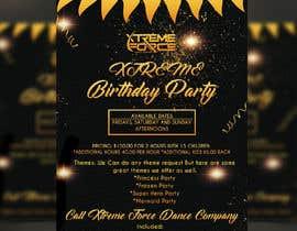 #31 untuk birthday party flier oleh GraphicsArif