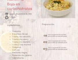 #8 untuk Diseno de Recetario Con estilo navideno oleh WilsonPinto74