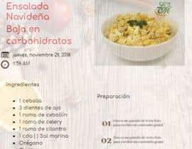 #9 untuk Diseno de Recetario Con estilo navideno oleh WilsonPinto74