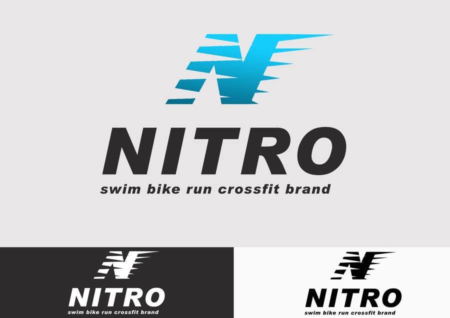Penyertaan Peraduan #                                        134                                      untuk                                         Logo Design for swim bike run crossfit brand