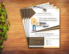 #37 для Flyer and banner design for a delivery company от Ansari4878