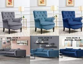 Nro 58 kilpailuun Change yellow chair to Blue, Royal Blue and Grey käyttäjältä mdmarufshah556