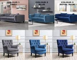 Nro 40 kilpailuun Change yellow chair to Blue, Royal Blue and Grey käyttäjältä shovon7020