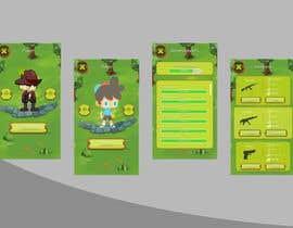 Nro 6 kilpailuun Design of 2D Mobile Game Theme and UI/UX käyttäjältä BwBest