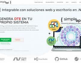 nº 11 pour Set de imagenes para sitio web de API de facturación electrónica par IDEARG