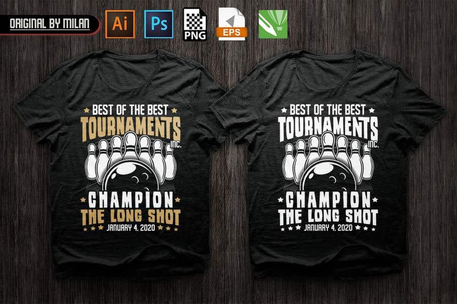 """Bài tham dự cuộc thi #69 cho BEST OF THE BEST INC """" THE LONG SHOT TOURNAMENT SHIRT"""""""