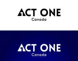 Nro 1232 kilpailuun ACT One Canada Logo käyttäjältä KamleshSaaho