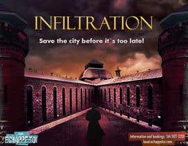 Nro 34 kilpailuun Create our new Escape Game Poster! käyttäjältä alexandrsur